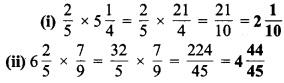 MP Board Class 7th Maths Solutions Chapter 2 भिन्न एवं दशमलव Ex 2.3 3a