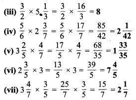MP Board Class 7th Maths Solutions Chapter 2 भिन्न एवं दशमलव Ex 2.3 3b