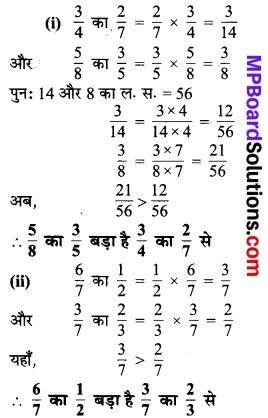 MP Board Class 7th Maths Solutions Chapter 2 भिन्न एवं दशमलव Ex 2.3 4
