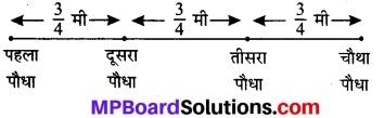 MP Board Class 7th Maths Solutions Chapter 2 भिन्न एवं दशमलव Ex 2.3 5