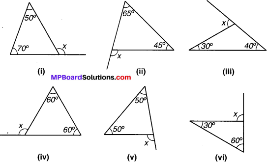 MP Board Class 7th Maths Solutions Chapter 6 त्रिभुज और उसके गुण Ex 6.2 image 1