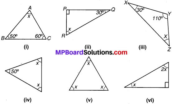 MP Board Class 7th Maths Solutions Chapter 6 त्रिभुज और उसके गुण Ex 6.3 image 1