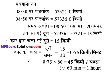 MP Board Class 7th Science Solutions Chapter 13 गति एवं समय 3
