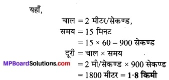 MP Board Class 7th Science Solutions Chapter 13 गति एवं समय 5