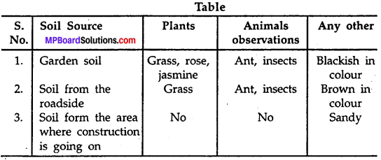 MP Board Class 7th Science Solutions Chapter 9 Soil img-1