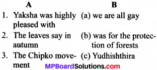 MP Board Class 8th General English Revision Exercises 3-2
