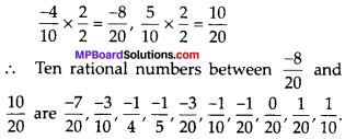 MP Board Class 8th Maths Solutions Chapter 1 Rational Numbers Ex 1.2 img-5