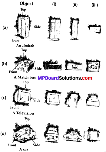 MP Board Class 8th Maths Solutions Chapter 10 Visualizing Solid Shapes Ex 10.1 3