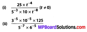 MP Board Class 8th Maths Solutions Chapter 12 Exponents and Powers Ex 12.1 14
