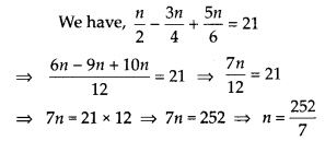 MP Board Class 8th Maths Solutions Chapter 2 Linear Equations in One Variable Ex 2.5 2