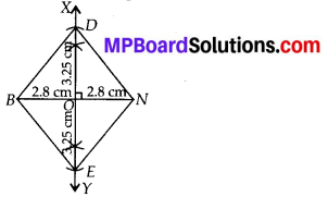 MP Board Class 8th Maths Solutions Chapter 4 Practical Geometry Ex 4.2 3