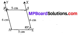MP Board Class 8th Maths Solutions Chapter 4 Practical Geometry Ex 4.3 3