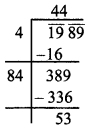 MP Board Class 8th Maths Solutions Chapter 6 वर्ग और वर्गमूल Ex 6.4 img-11