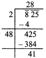 MP Board Class 8th Maths Solutions Chapter 6 वर्ग और वर्गमूल Ex 6.4 img-13