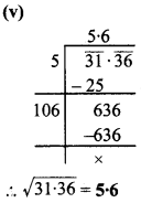 MP Board Class 8th Maths Solutions Chapter 6 वर्ग और वर्गमूल Ex 6.4 img-9