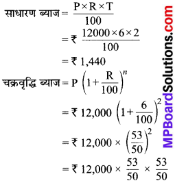 MP Board Class 8th Maths Solutions Chapter 8 राशियों की तुलना Ex 8.3 img-9