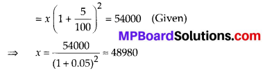 MP Board Class 8th Maths Solutions Chapter 8 Comparing Quantities Ex 8.3 32