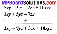 MP Board Class 8th Maths Solutions Chapter 9 बीजीय व्यंजक एवं सर्वसमिकाएँ Ex 9.1 img-7