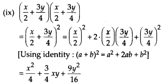 MP Board Class 8th Maths Solutions Chapter 9 Algebraic Expressions and Identities Ex 9.5 4