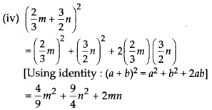 MP Board Class 8th Maths Solutions Chapter 9 Algebraic Expressions and Identities Ex 9.5 6
