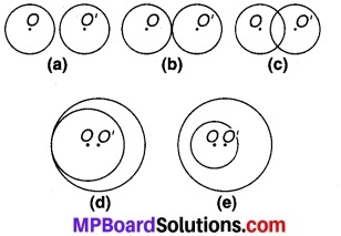 MP Board Class 9th Maths Solutions Chapter 10 वृत्त Ex 10.3 1