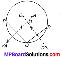 MP Board Class 9th Maths Solutions Chapter 10 वृत्त Ex 10.3 2