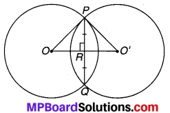 MP Board Class 9th Maths Solutions Chapter 10 वृत्त Ex 10.3 3