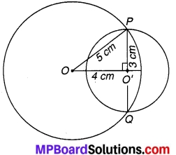MP Board Class 9th Maths Solutions Chapter 10 वृत्त Ex 10.4 1