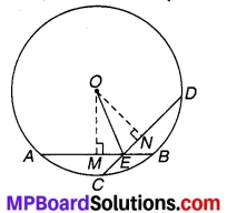 MP Board Class 9th Maths Solutions Chapter 10 वृत्त Ex 10.4 3