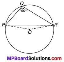 MP Board Class 9th Maths Solutions Chapter 10 वृत्त Ex 10.5 3