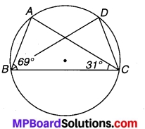 MP Board Class 9th Maths Solutions Chapter 10 वृत्त Ex 10.5 4