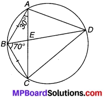 MP Board Class 9th Maths Solutions Chapter 10 वृत्त Ex 10.5 6
