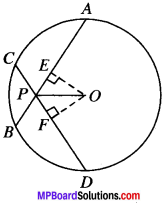 MP Board Class 9th Maths Solutions Chapter 10 Circles Ex 10.4 img-2