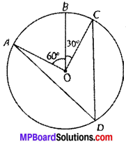 MP Board Class 9th Maths Solutions Chapter 10 Circles Ex 10.5 img-1
