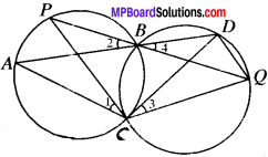 MP Board Class 9th Maths Solutions Chapter 10 Circles Ex 10.5 img-10