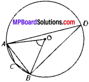 MP Board Class 9th Maths Solutions Chapter 10 Circles Ex 10.5 img-2