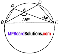 MP Board Class 9th Maths Solutions Chapter 10 Circles Ex 10.5 img-5