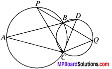 MP Board Class 9th Maths Solutions Chapter 10 Circles Ex 10.5 img-9