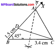 MP Board Class 9th Maths Solutions Chapter 11 Constructions Ex 11.1 img-12