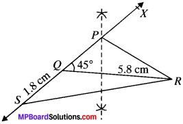 MP Board Class 9th Maths Solutions Chapter 11 Constructions Ex 11.1 img-13