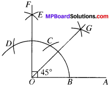 MP Board Class 9th Maths Solutions Chapter 11 Constructions Ex 11.1 img-2