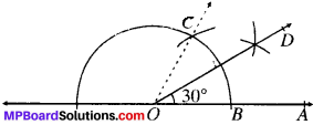 MP Board Class 9th Maths Solutions Chapter 11 Constructions Ex 11.1 img-3