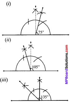 MP Board Class 9th Maths Solutions Chapter 11 Constructions Ex 11.1 img-6