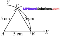 MP Board Class 9th Maths Solutions Chapter 11 Constructions Ex 11.1 img-7