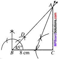 MP Board Class 9th Maths Solutions Chapter 11 Constructions Ex 11.2 img-2
