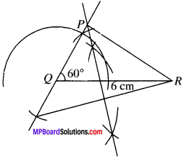 MP Board Class 9th Maths Solutions Chapter 11 Constructions Ex 11.2 img-3
