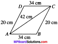 MP Board Class 9th Maths Solutions Chapter 12 Heron's Formula Ex 12.1 img-12