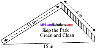 MP Board Class 9th Maths Solutions Chapter 12 Heron's Formula Ex 12.1 img-4