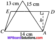 MP Board Class 9th Maths Solutions Chapter 12 Heron's Formula Ex 12.1 img-8