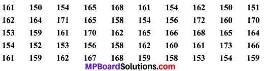 MP Board Class 9th Maths Solutions Chapter 14 सांख्यिकी Ex 14.2 image 4